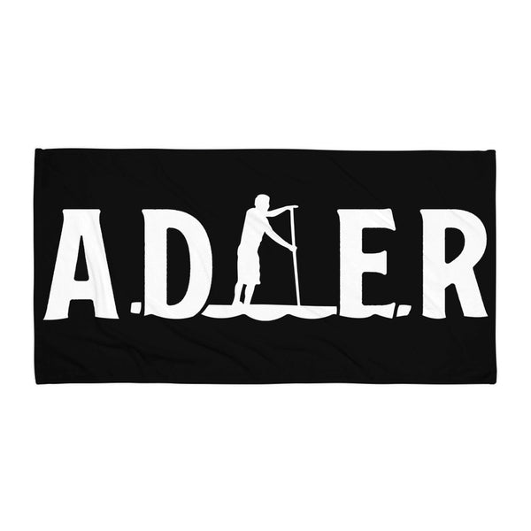 2020 Adler Paddler Towel - Black