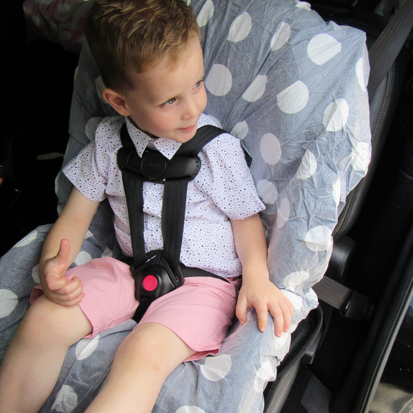 Save Your Seat Disposable Seat Covers & Straps Boy/4-Pack