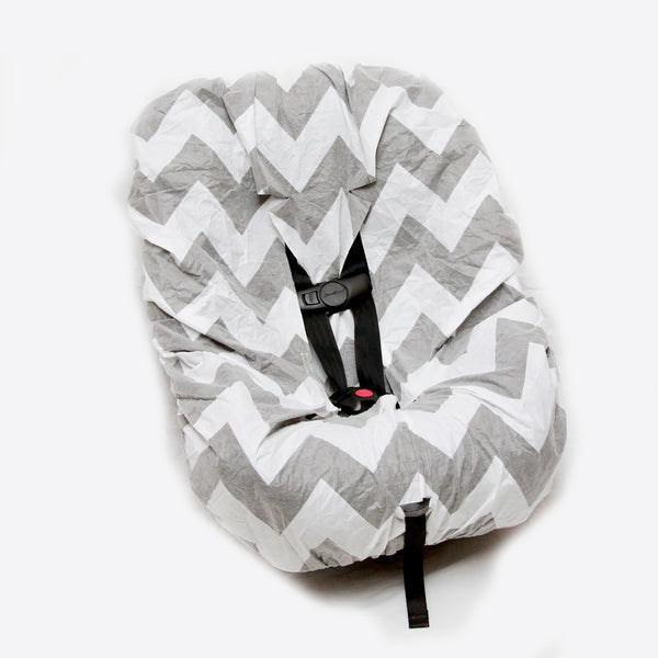 Save Your Seat Disposable Seat & Strap Cover Chevron/1-Pack