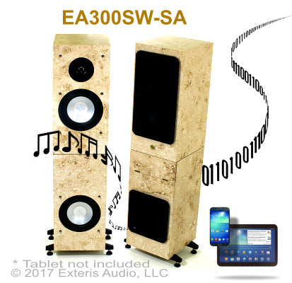 Exteris Audio EA300SW Real Stone WiFI/Streaming Audio Outdoor Stereo