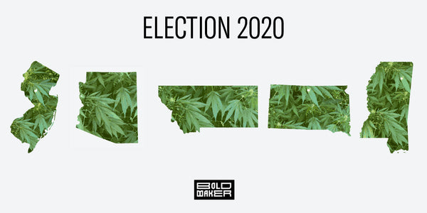 Voters Legalize Five New States for Marijuana