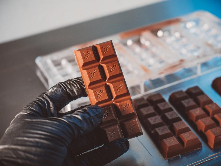 bold maker Polycarbonate Molds For CBD & THC Chocolates