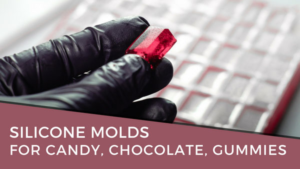 bold maker Silicone Molds for Candy, Chocolate, Gummies & More