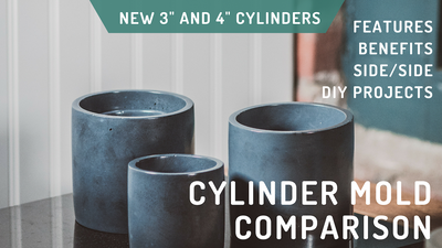 "New Video: 3"" and 4"" Cylinder Mold Highlights and How they Compare to Our Previous Molds"