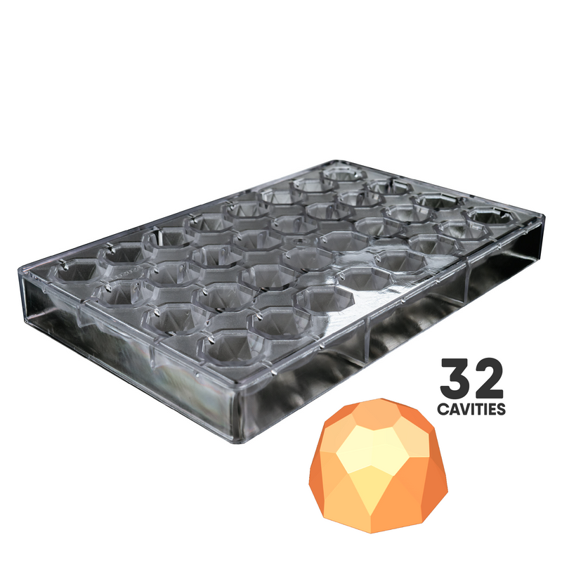 GEOMETRIC TRUFFLE - POLYCARBONATE CHOCOLATE MOLD