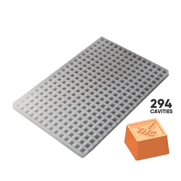 SQUARE CANDY SILICONE MOLD - COLORADO REGULATORY CANNABIS