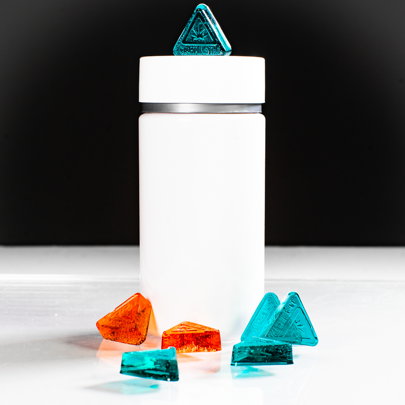 1.75mL Triangle Gummy Mold With THC Triangle Symbol SDMA5