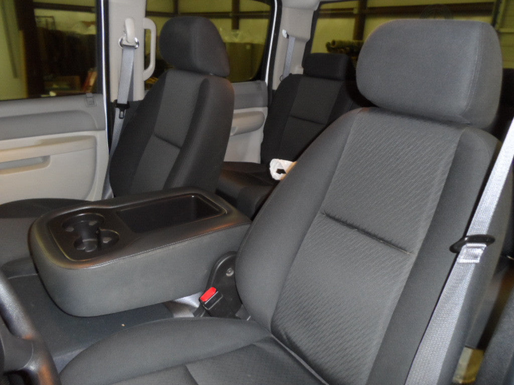 Chevy/GMC 1500/2500/3500 40/20/40 with 2 Cup Holders and No Storage Under the Center Seat