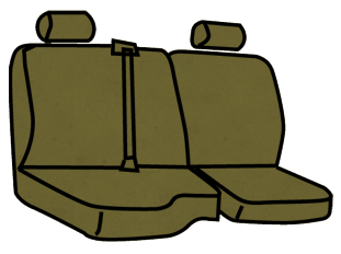 Dodge Ram 1500/2500/3500 40/60 Rear Seat