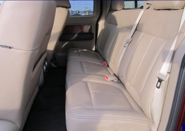 Ford F-150 60/40 Seats with a Solid Back