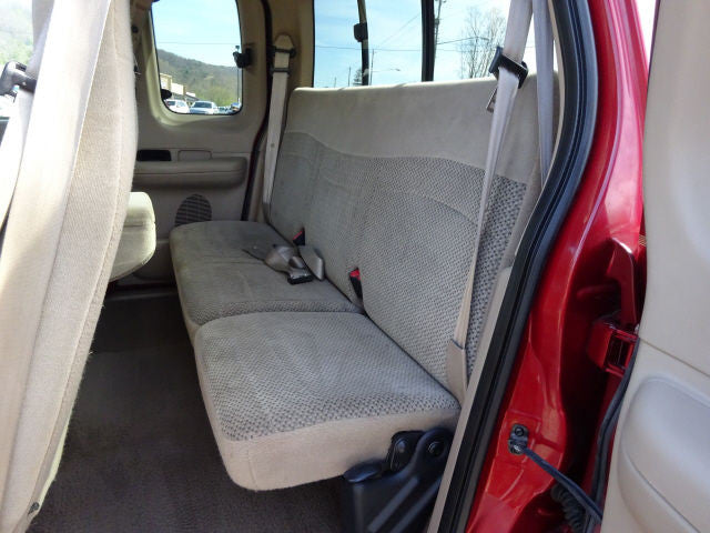 Ford F-150 40/60 Seats with a Solid Back and Belt in the Back