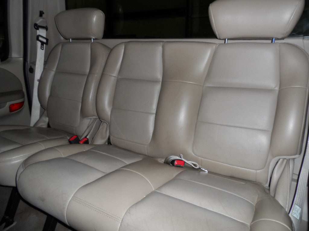 Ford F-150 60/40 Rear Seats with Adjustable Headrests