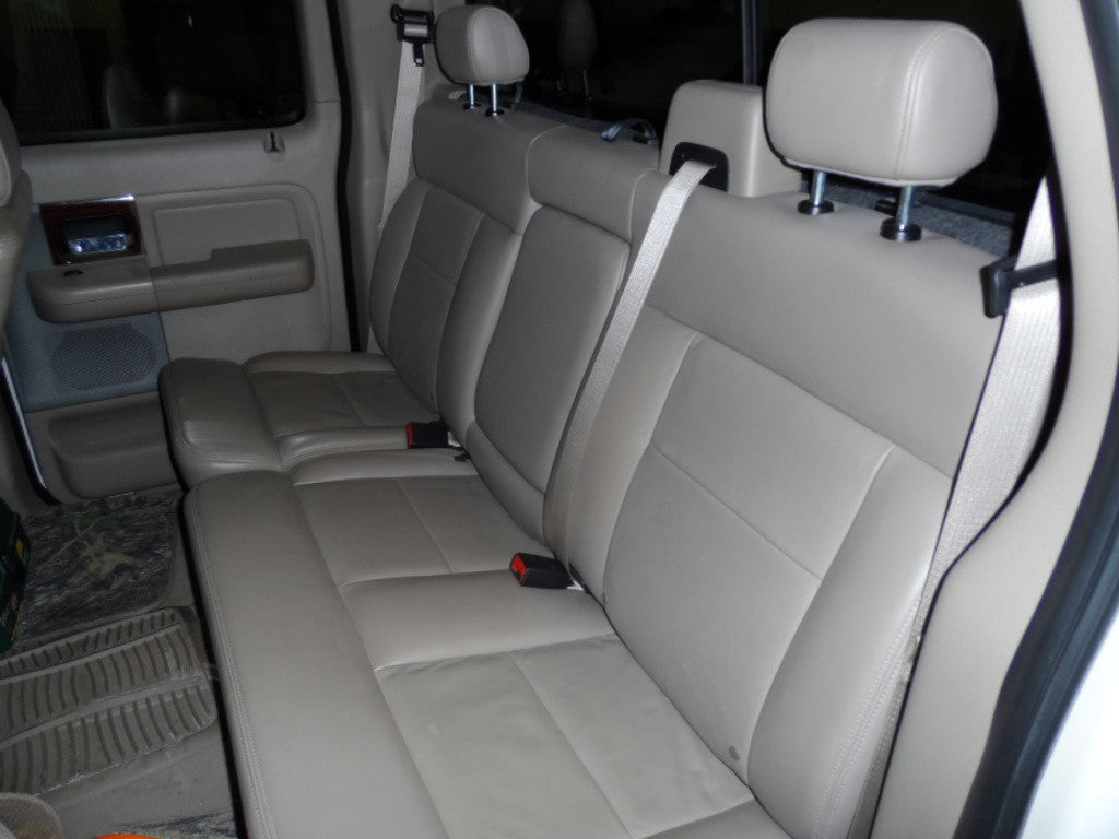 Ford F-150 60/40 Rear Seat with Solid Back and an Armrest