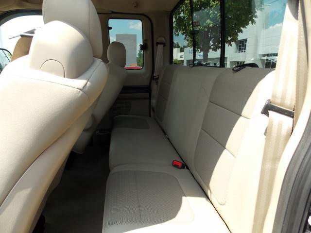 Ford F-250/350 Extended Cab 40/60 Rear Seats with a Solid Back