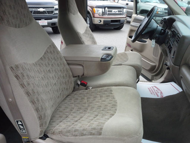Ford F-150/250/350 40/20/40 Seats with a Change Holder Console