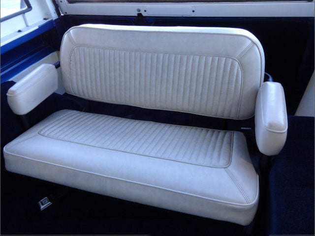 Ford Bronco Bench Seat with Armrests