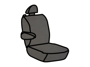 Ford F-150 Captain Chair with Adjustable Headrests