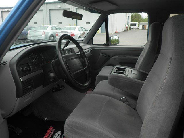 Ford F-150/250/350 40/20/40 with Molded Headrests and a Slide Console
