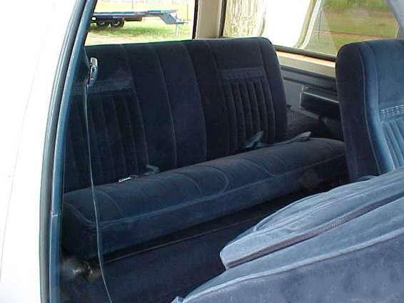 Ford Bronco Rear Bronco Bench Seat