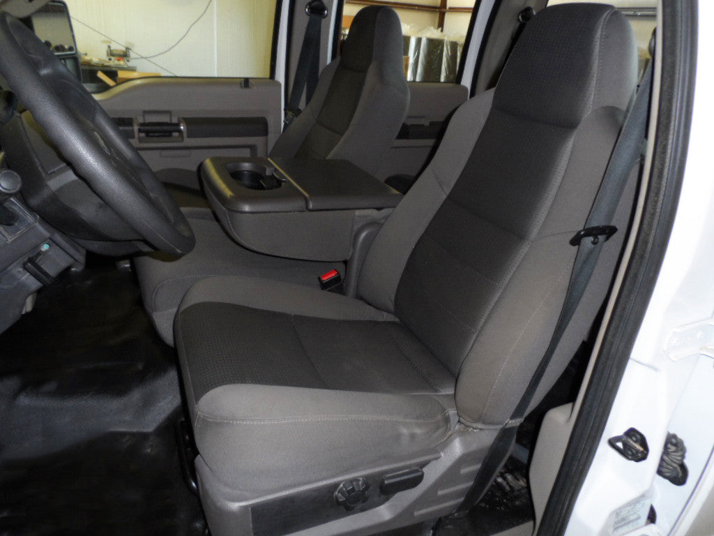 Ford F-250/350 40/20/40 Seats with Molded Headrests