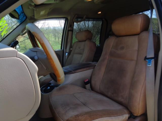 Ford F-150 King Ranch Bucket Seats with Adjustable Headrests