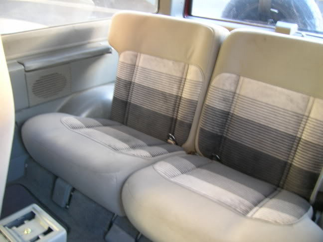 Ford Bronco II 50/50 Rear Seats