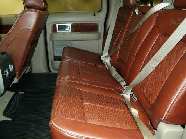 Ford F-150 60/40 Rear Seats with an Armrest