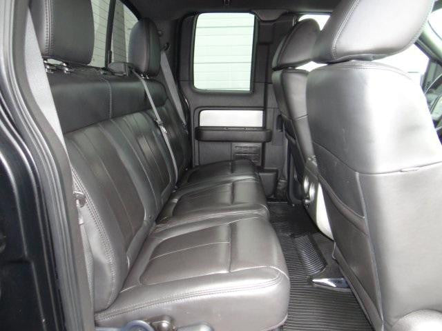 Ford F-150 60/40 Rear Seats with a Solid Back