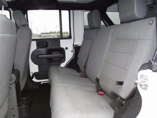 Jeep Wrangler Rear Bench Seat with Adjustable Headrests
