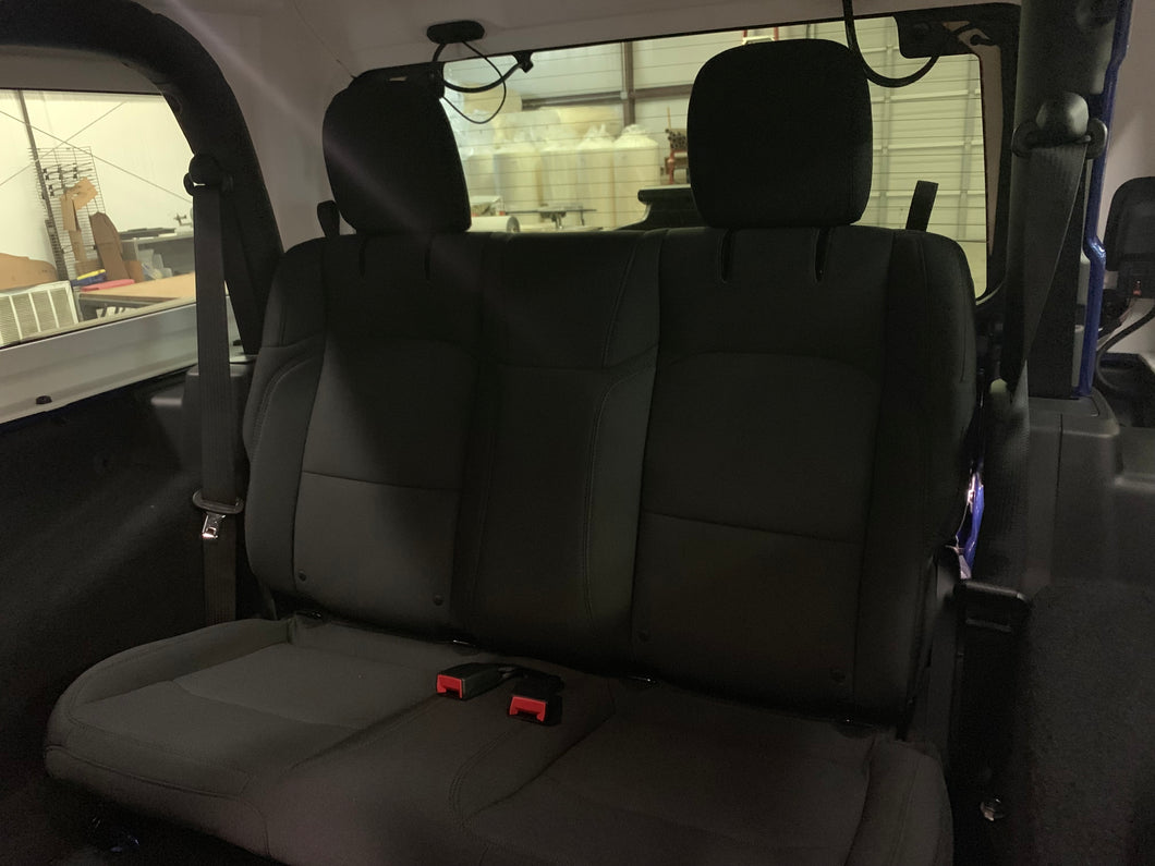 Wrangler JL Rear Bench Seat with Adjustable Headrests