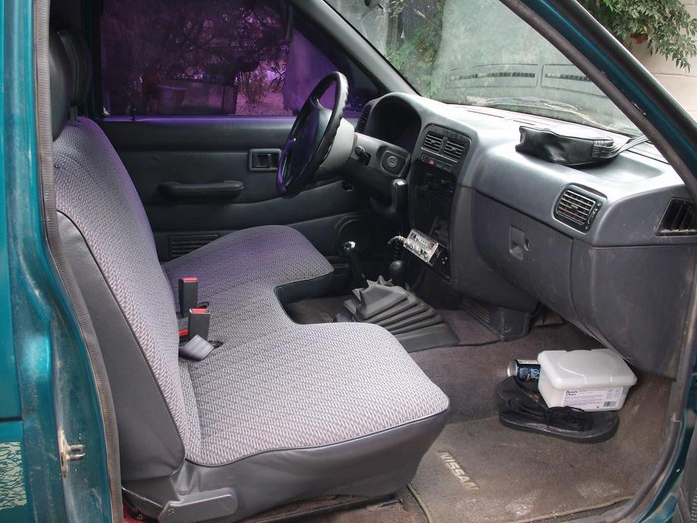 Nissan Frontier Bench Seat with a Large Cutout