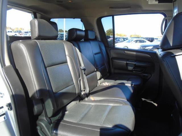 Nissan Armada 40/20/40 2nd Row