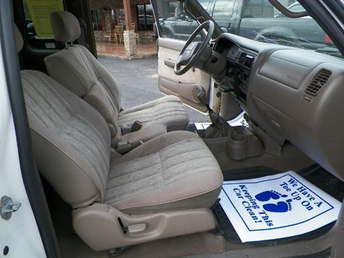 Toyota Tacoma 60/40 Seat with an Armrest