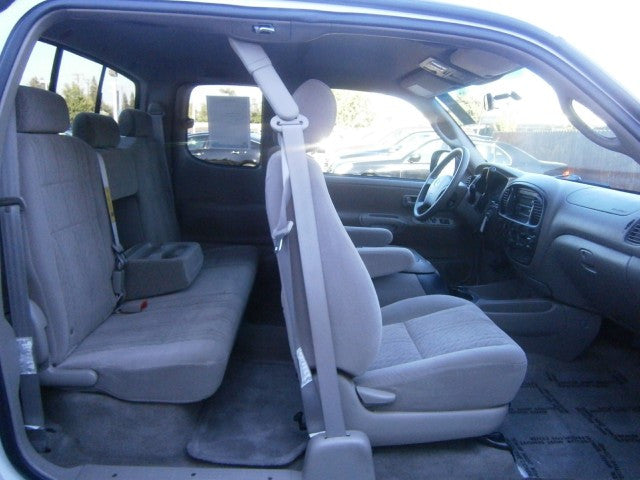 Toyota Tundra 40/60 Rear Seats with a Solid Back