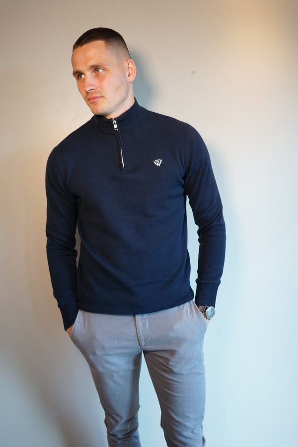 Dark Navy 1/4 Zip