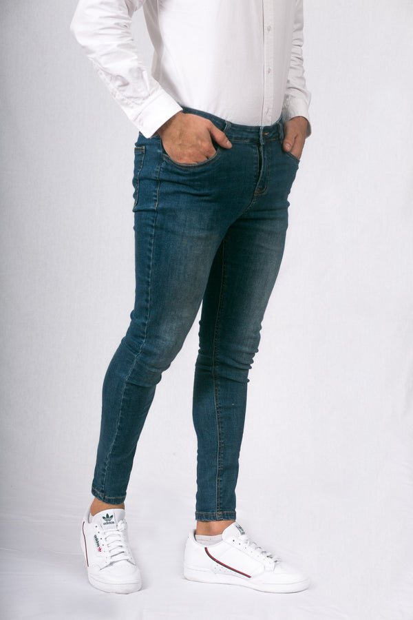 Light Blue Super Skinny Fit Jeans