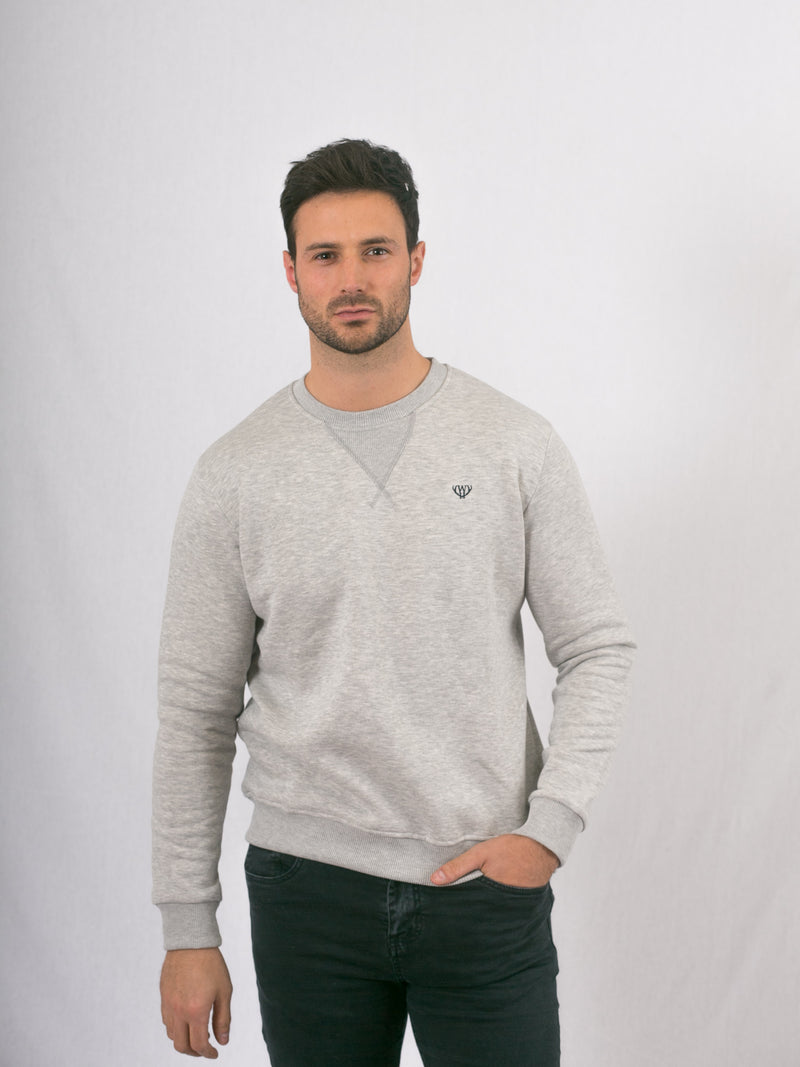 Snow Grey Sweatshirt