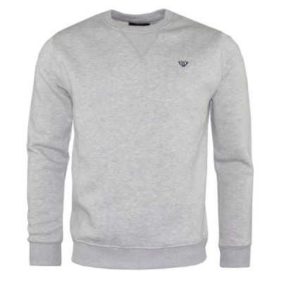 Grey V-Stitch Sweatshirt