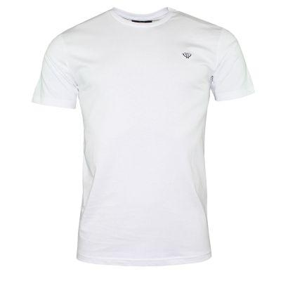 White Cotton T-Shirt T-Shirts Walker & Hunt