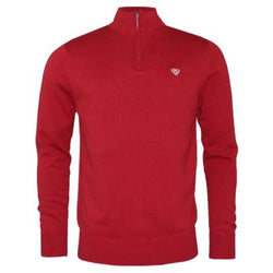 Winter Red 1/4 Zip