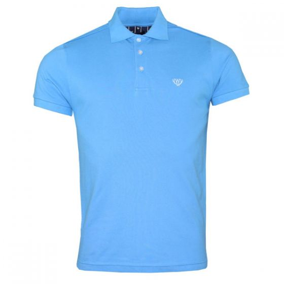 Men's Light Blue Polo Shirt