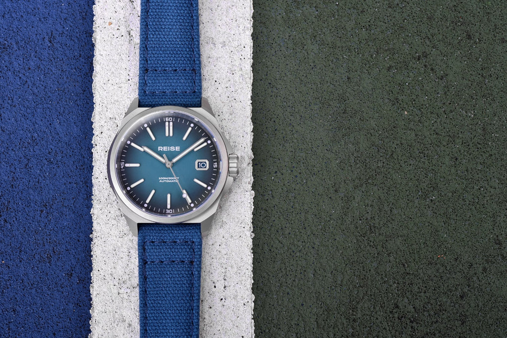 REISE Resolute blue dial