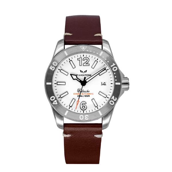 Phantom Caleuche White - Hamtun Watches