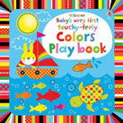 Usborne Baby's Very First Touchy-Feely Colors Play Book