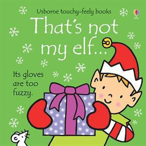 Usborne Touchy-Feely Book - That's Not My Elf