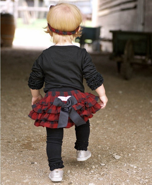 Buffalo Plaid RuffleButt