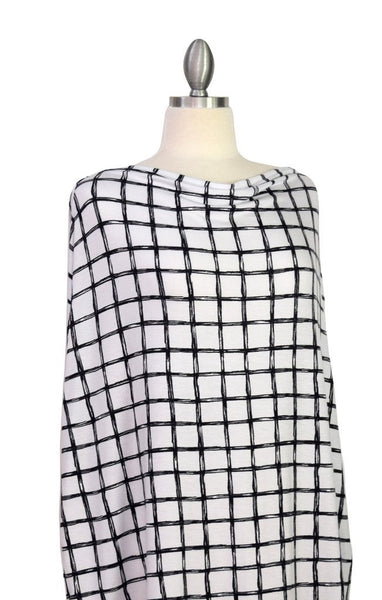 Covered Goods Multi-use Nursing Cover - Grid