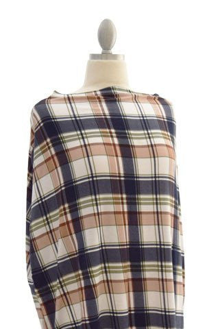 Covered Goods Multi-use Nursing Cover - Plaid