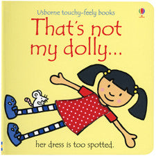 Usborne Touchy-Feely Book - That's Not My Dolly