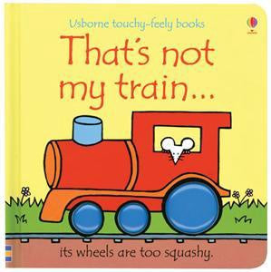 Usborne Touchy-Feely Book - That's Not My Train